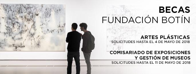 Becas de gestión de museos y comisariado de exposiciones