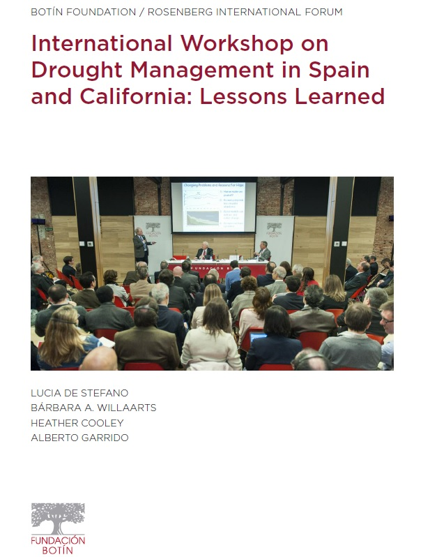 International Workshop on Drought Management in Spain and California: Lessons Learned